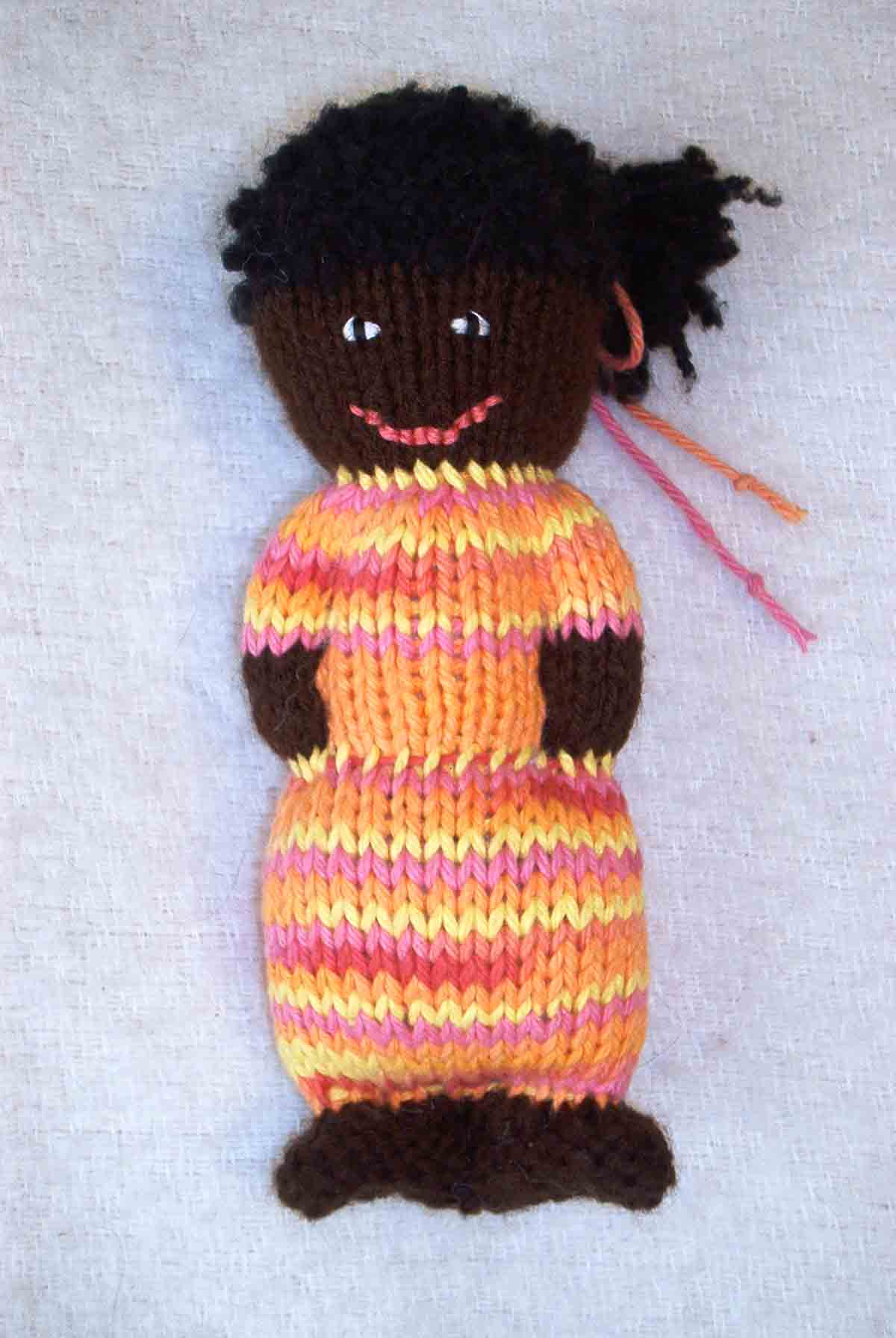 Charity Knitting Comfort Dolls Random Bits Of Projects