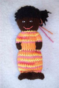 My first comfort doll.