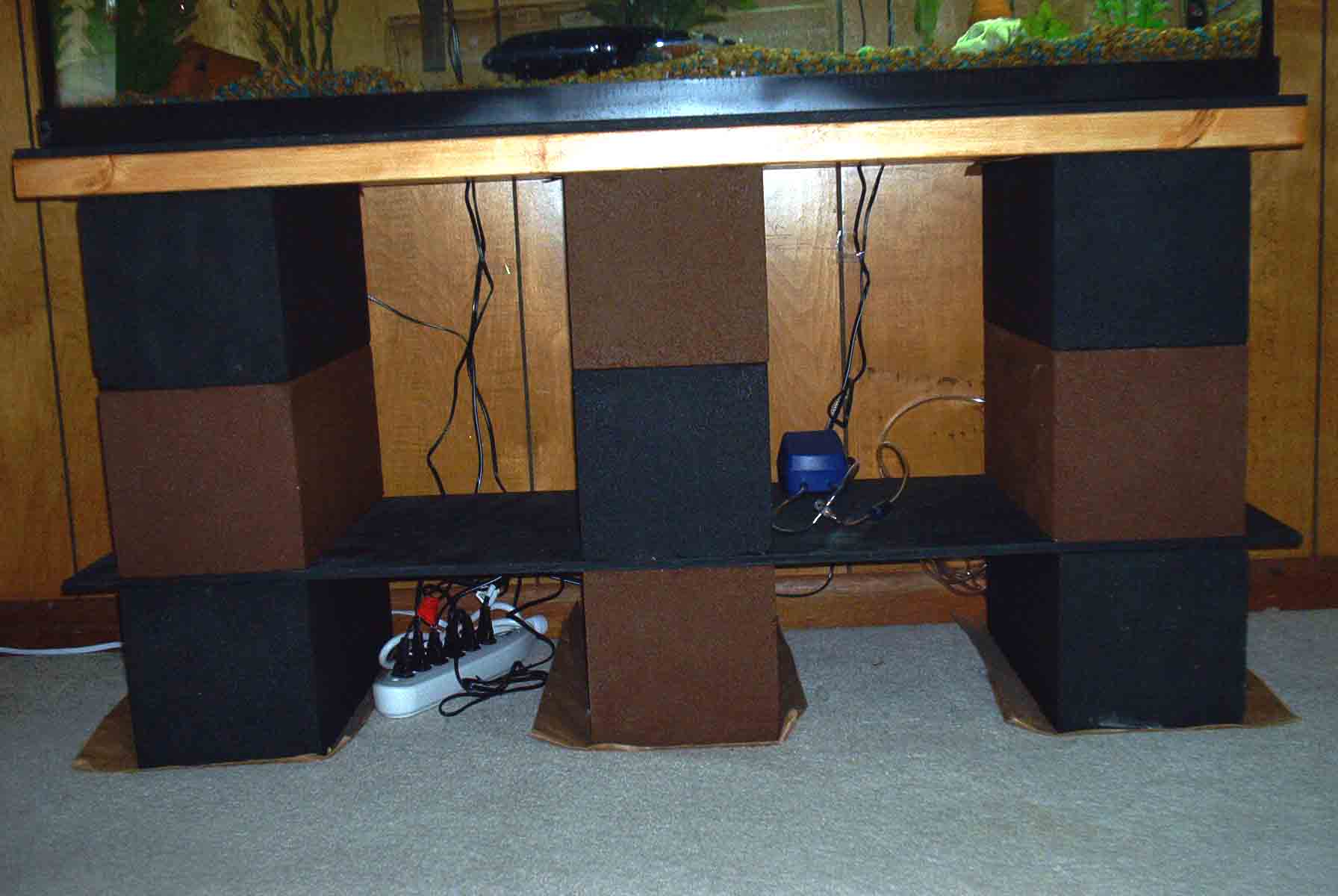 Build a Strong, Inexpensive Aquarium Stand | Random Bits of Projects