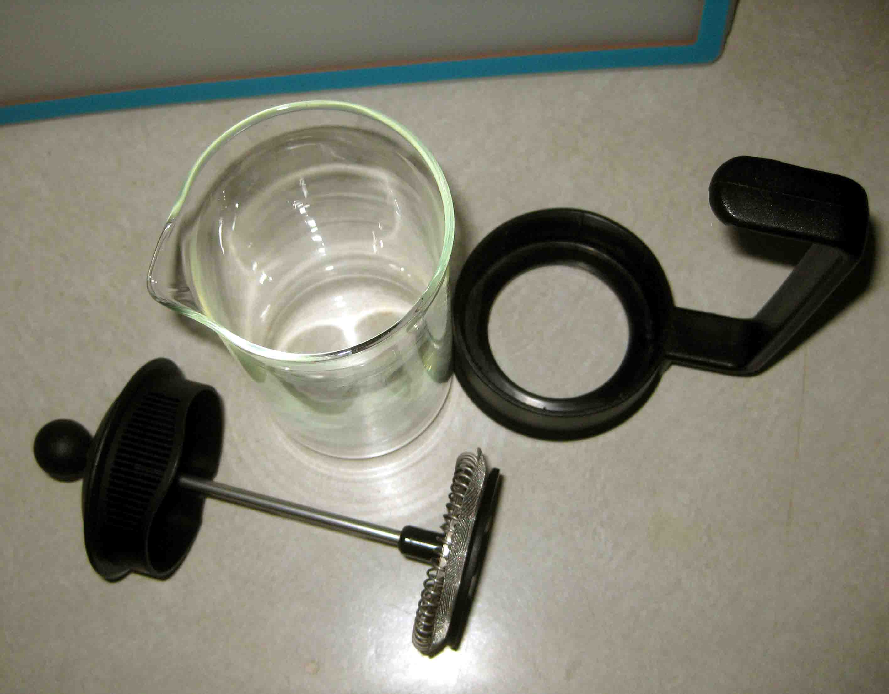 Bodum french press replacement glass - French Press Parts